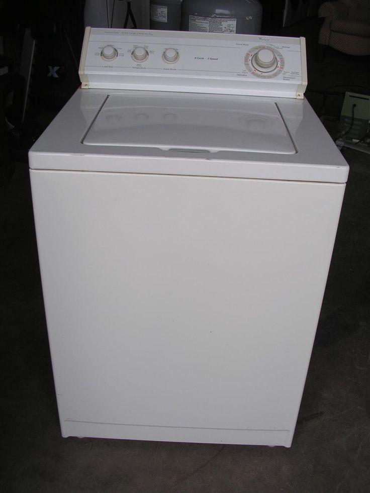 whirlpool heavy duty extra large capacity plus washing machine. Black Bedroom Furniture Sets. Home Design Ideas