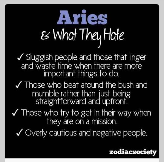 aries about