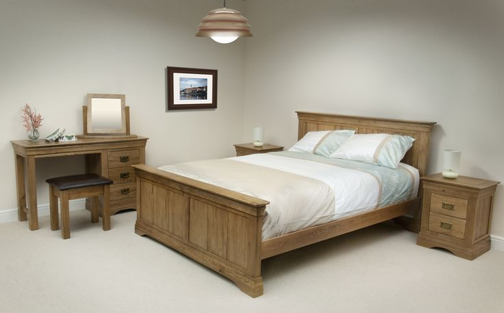 French Farmhouse Solid Oak Bedroom Furniture Oak Furniture Land