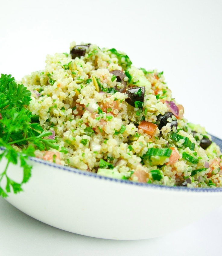 Quinoa Tabbouleh #recipe | Simply Salads | Pinterest