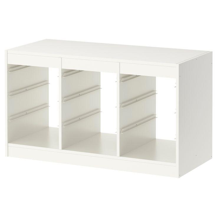 trofast frame white. Black Bedroom Furniture Sets. Home Design Ideas