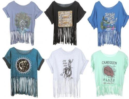 fringe shirts