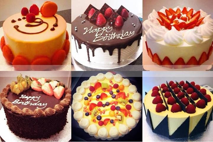 Gorgeous classy fruit & cream cakes