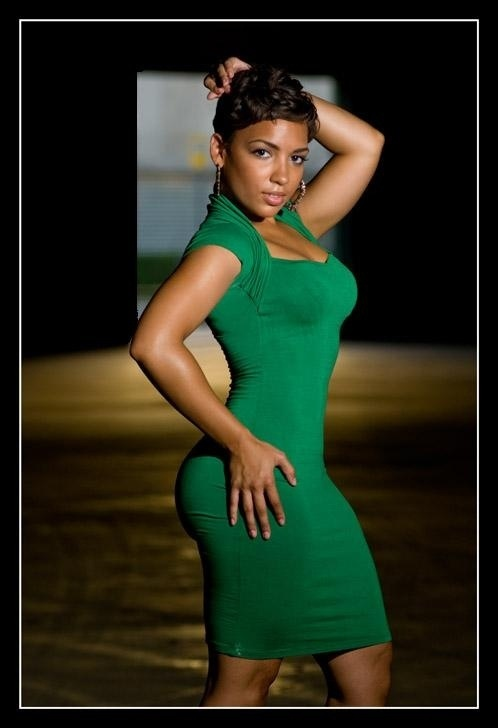 women curves black Beautiful with