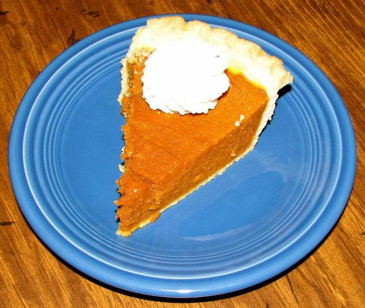 Shel's Kitchen: Skinny Pumpkin Pie | Chicken Recipes | Pinterest