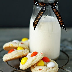 Cake Mix Cookies with Candy Corn M | Sweet and Tasty | Pinterest