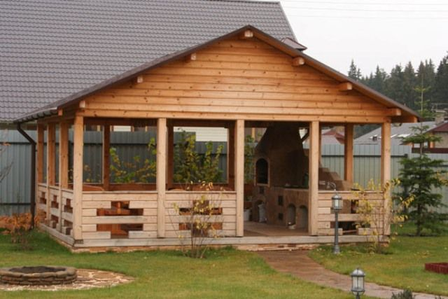 backyard pavilion outdoor living pinterest