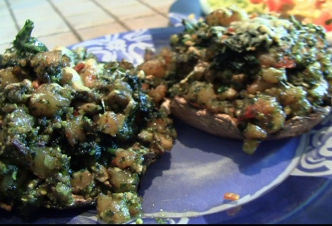 Fast Paleo » Pesto Shrimp Stuffed Portobello Mushrooms - Paleo Recipe ...