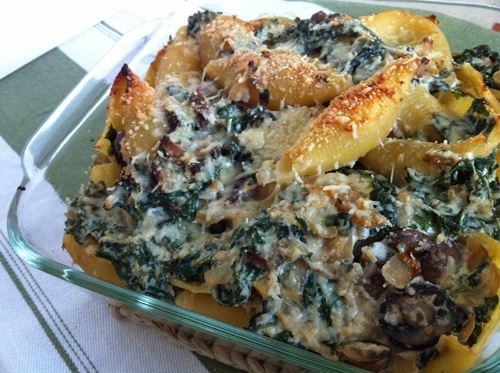 Baby Bella and Kale Casserole | Recipe