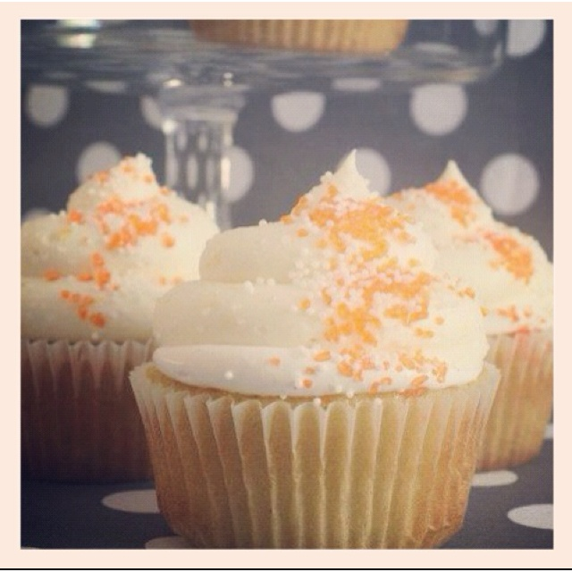 Orange Cream Cupcakes | Sweet tooth! | Pinterest