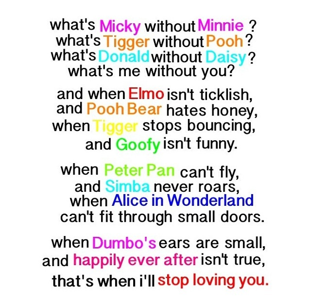 Disney Love Quotes Tumblr For Him : Disney love quote
