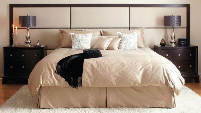 Do it yourself headboard master bedroom pinterest for Do it yourself headboard ideas
