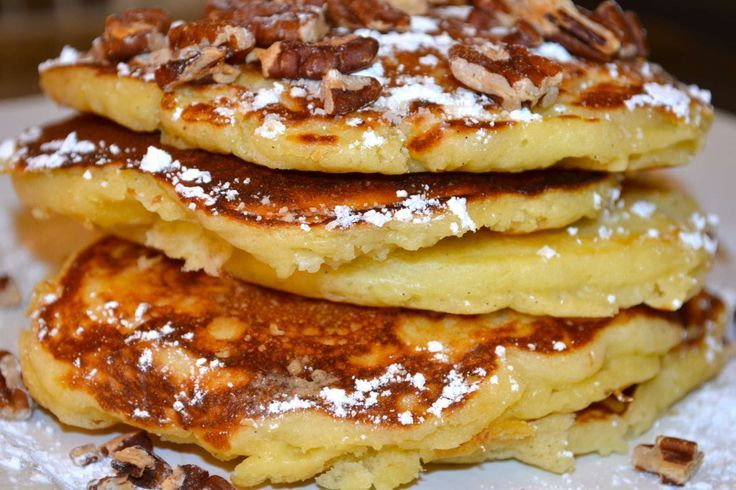 Banana Nut Pancakes Breakfast Recipe | Food and Drink | Pinterest