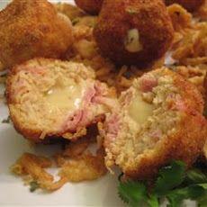 Chicken Cordon Bleu Bites II Recipe | Appetisers | Pinterest