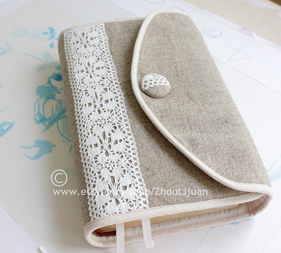 Diy Lace Book Cover ~ Bible cover diy pinterest