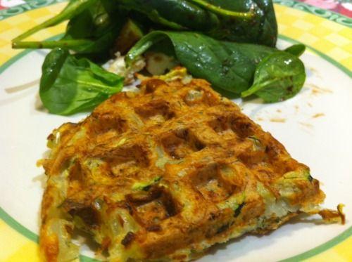 Zucchini Dill Waffle Latkes | Epifurious | Pinterest