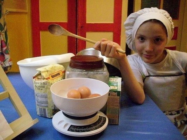 Gâteau de Savoie - Sponge cake #cuisine #enfant #kid #children # ...