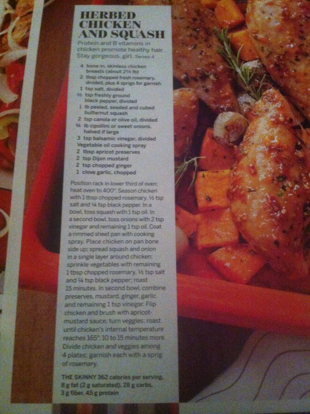 Herbed chicken and squash |Pinned from PinTo for iPad|