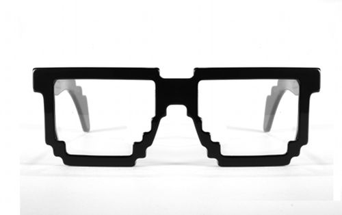 The geekiest glasses I've ever seen. Love them!!