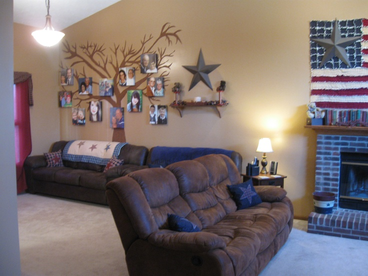 my americana living room for the home pinterest
