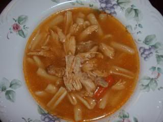 Mom's Chicken Soup with Cavatelli | Food: Soups | Pinterest