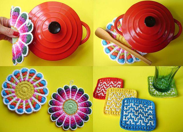 Coisinhas de cozinha by Colorido Eclético - por Cristina Vasconcellos, via Flickr