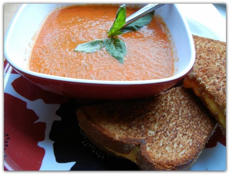Tomato Basil Soup | Yummy Health Food | Pinterest
