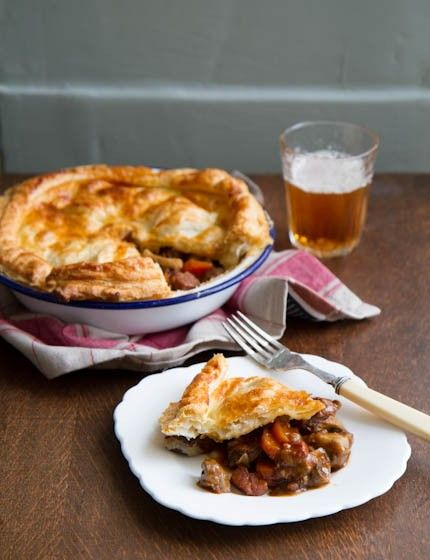 Steak and Ale Pie | Main - Beef | Pinterest