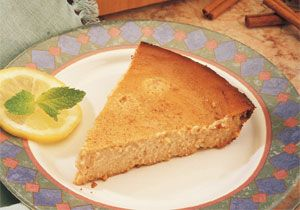 "Honey Cheese Pie Recipe | Food: ""One should eat to live, not live to ..."