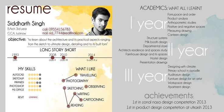 Architectural resume winter doodads architectural resume yelopaper Image collections