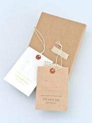 Natural envelope tags