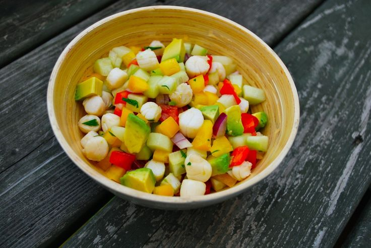 Scallop and Cucumber Salad