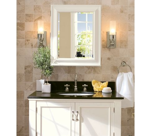 Sussex Tube Sconce Pottery Barn Bath Ideas Pinterest