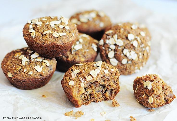 Oat Bran-Applesauce Muffins | stuffin' muffins | Pinterest