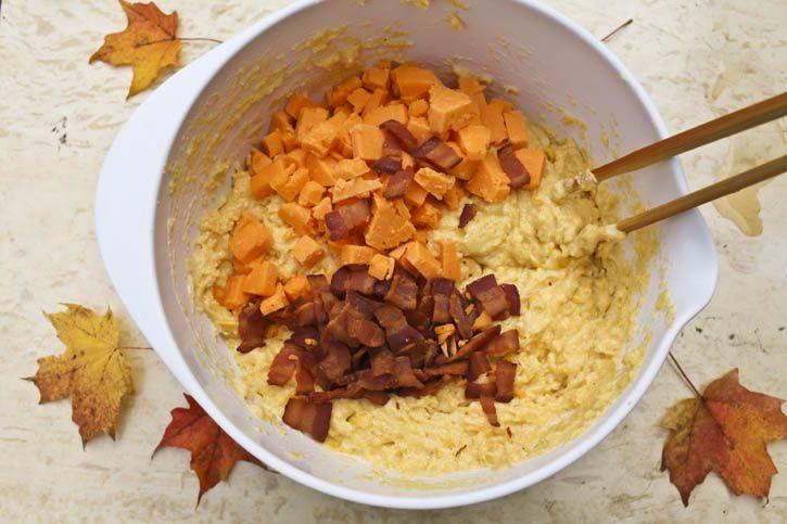 Bacon Cheddar Cornbread | Food | Pinterest