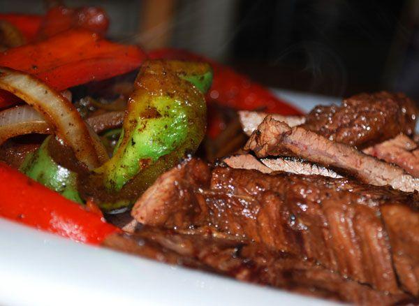 Steak Fajitas   Recipes   Pinterest