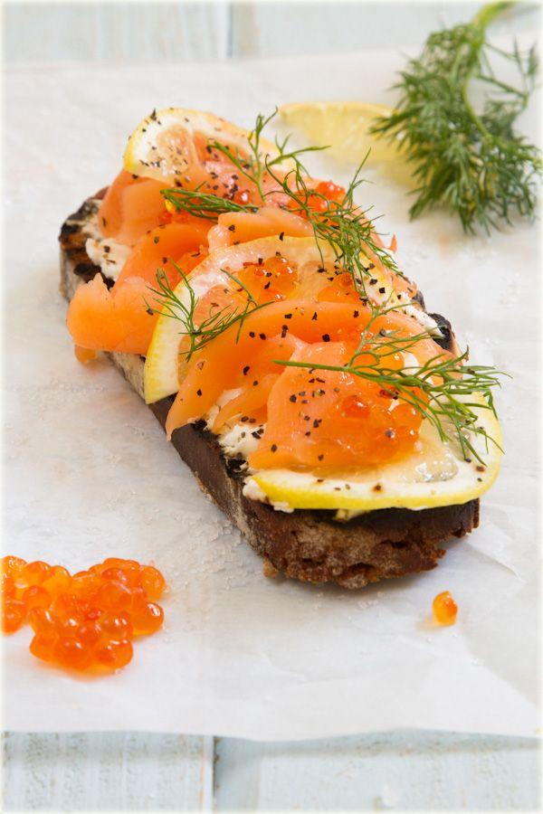 Salmon Crostini | Trying recipes | Pinterest