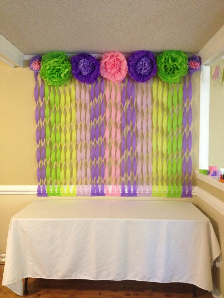 Baby shower decorations gift table baby shower ideas for Baby gift decoration ideas