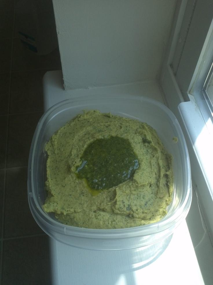 Herby Avocado Hummus | Hey, I Made That! | Pinterest