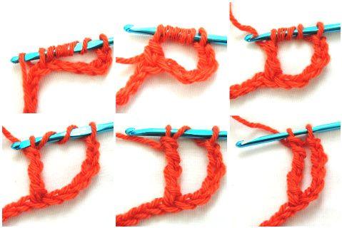 How to Crochet the Quadruple Treble Stitch (quad tr) ~ Not my ...