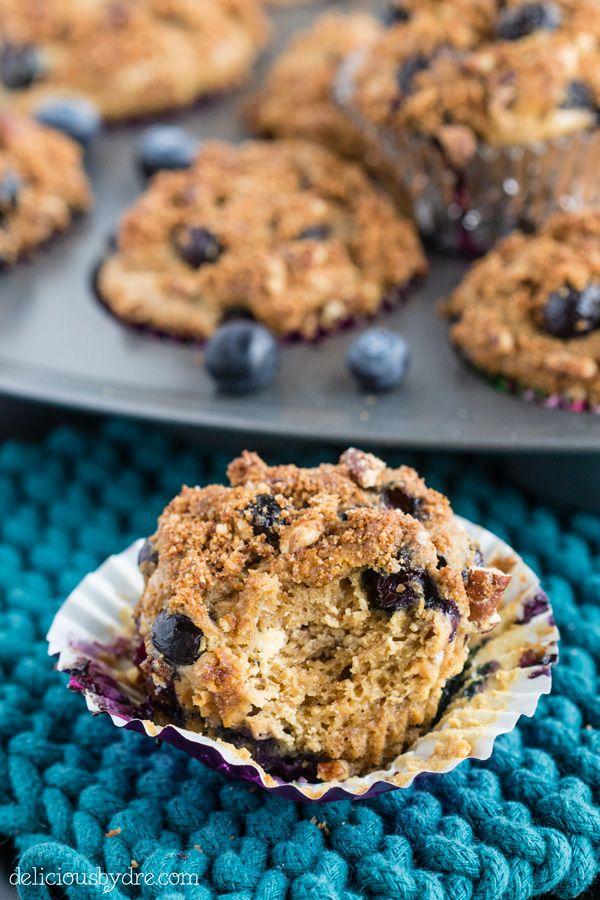 gluten free blueberry muffins | Good Eats and Treats | Pinterest