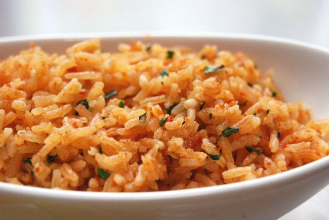 Mexican Rice with Lime & Cilantro | Recipes | Pinterest