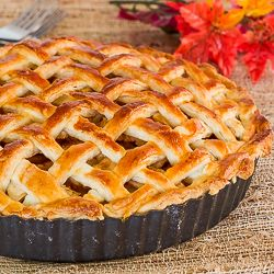 Make this classic American Apple Pie for Thanksgiving and enjoy with a glass of Riesling!