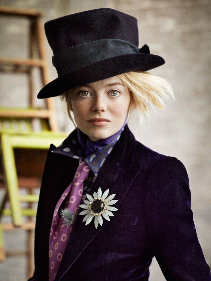 Emma Stone for Vogue US July 2012 by Mario Testino (8)