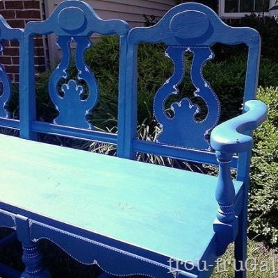 bench made from old chairs diy do it yourself pinterest