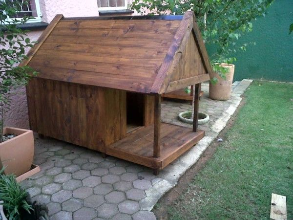 Diy pallet garden dog house the great outdoors pinterest for Diy outdoor dog house