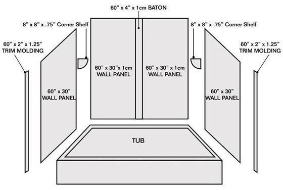 Showers Wall Bathtubs   Wholesale walk in tubs ideas osbdata. Showers Wall Bathtubs  Beige ceramic tiled floor white granite top