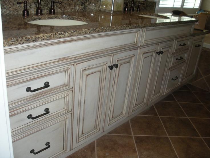 distressed bath cabinets lang 39 s kitchen bath newtown pa pint