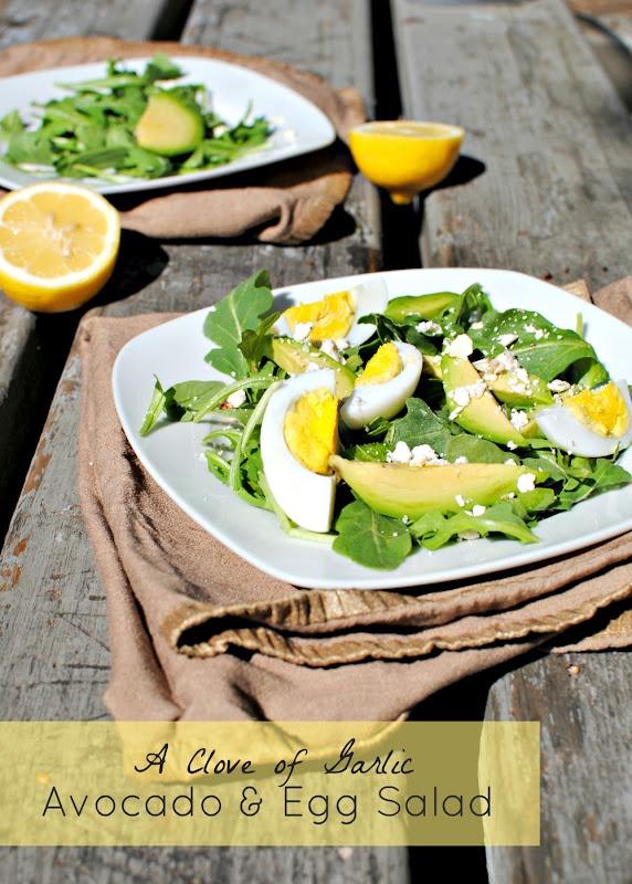 Clove of Garlic, A Pinch of Salt: Avocado, Egg, and Feta Salad ...