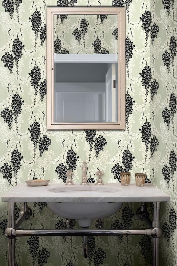 wisteria wallpaper bathroom -#main